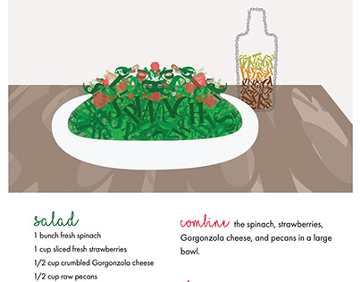 Typographic Poster: Food
