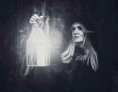 Alone in the dark [b&w]