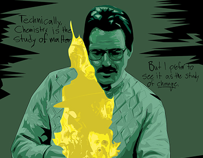 Study of Change: A Breaking Bad Poster