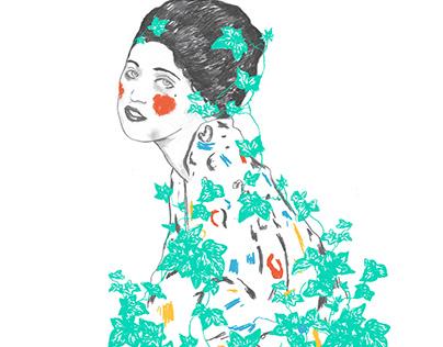 Portrait of Klimt's lady