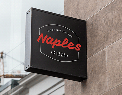 Identidade Visual Naples Pizza