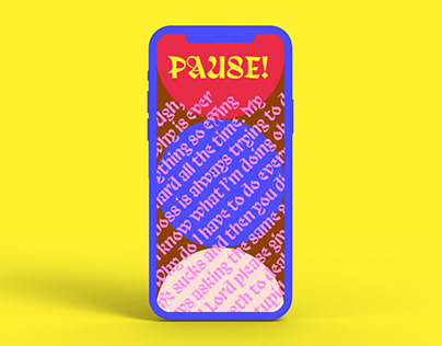 Pause! App Design