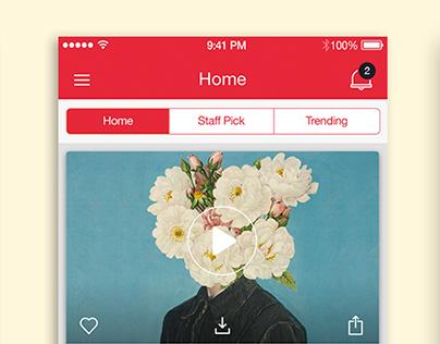 AudioRooster IOS App VD