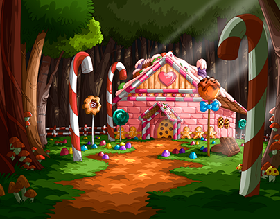 Animation TV show Background