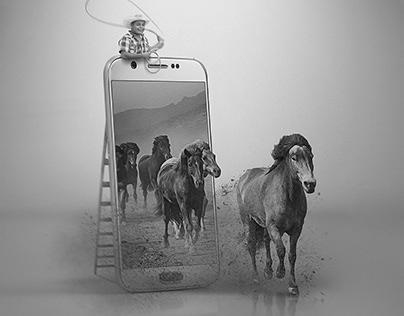 Wolność: Foto-manipulacja.