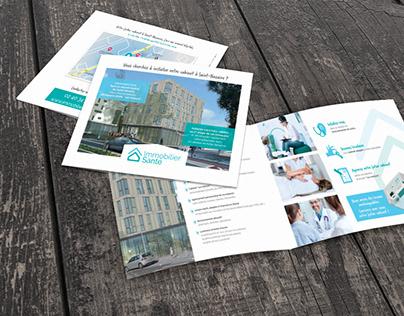 Plaquette agence immobilière - cabinets médicaux