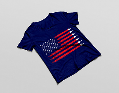 Painting America -Painting company T-shirt Design