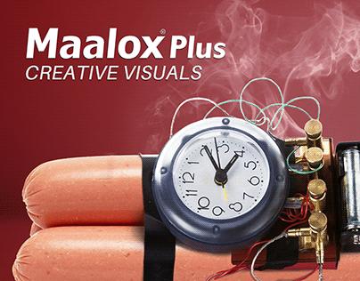 Maalox - Creative Visuals