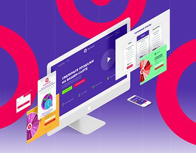 Webdesign for Quizmarker.com