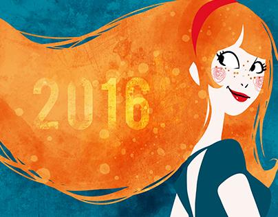 2016 / Bonne année - Happy new year !