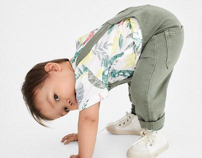 T-shirt | ZARA BABY BOY SS20