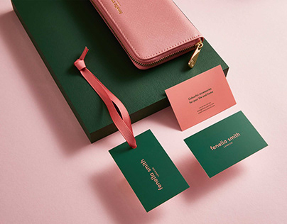 Fenella Smith — Brand identity & Stationery