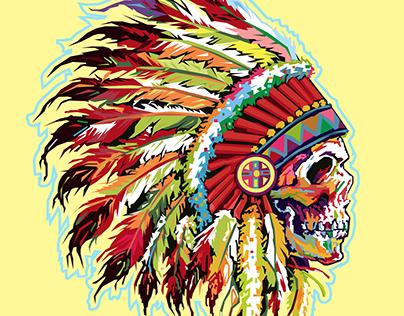 Native american wpap art