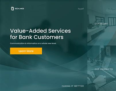 Techlines website design & exploring