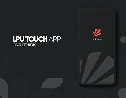 LPU TOUCH UI/UX CONCEPT