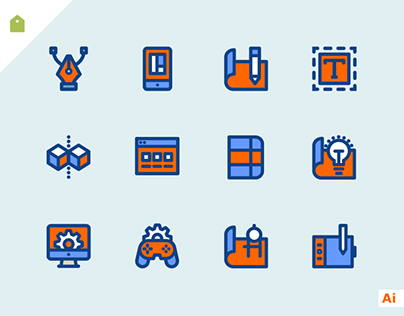 Free Design & Development Icon Set