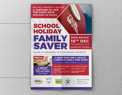 School Holiday Family Saver