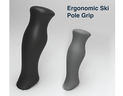 Ergonomic Ski Pole Grip (WIP)