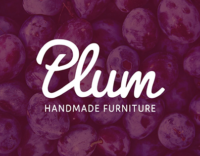 Plum logo and branding