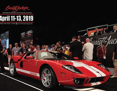 Promotional Design: Barret Jackson Auto Auction