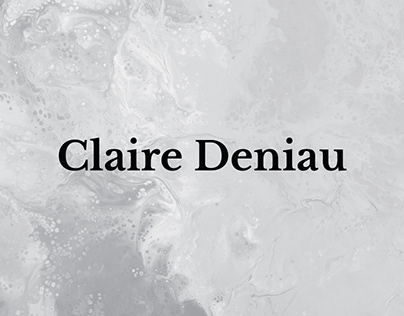 Claire Deniau - Website
