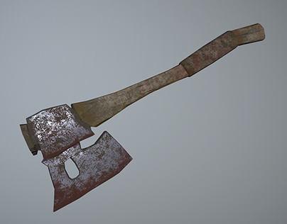 Bloody Axe - Prop Creation