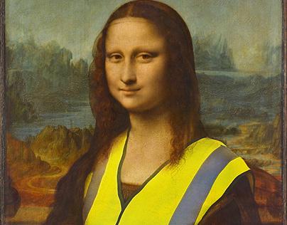 Monas-Gelbweste.