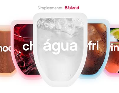 B.blend | Água na boca