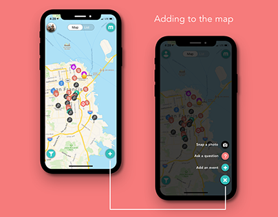 Mockup // Maply - Add to Map UI