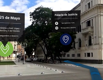 Augmented Reality simulation / Simulación RA (motion)