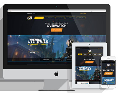 GetBonkd's Overwatch Website
