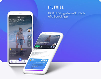 Ifuiwill - Social Challenges App