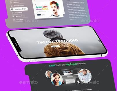 Iphone X Multi Screens Apps