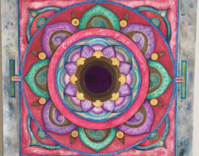 Mandala del BINDU specchio