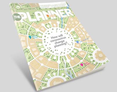 The Planner June 2020 cover illustration