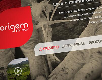 Origem Minas website