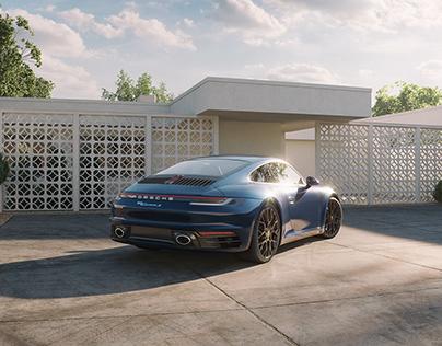 Porsche 911 Carrera 4 S image remake