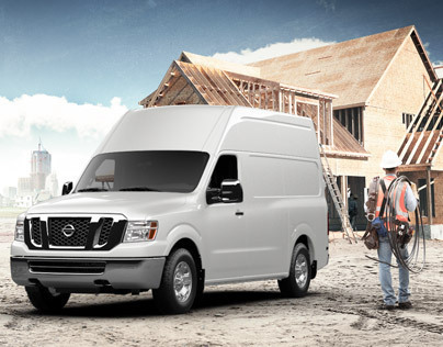 Nissan Commercial Vehicles Homepage Redesign