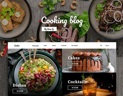 Cooking Blog 🍳