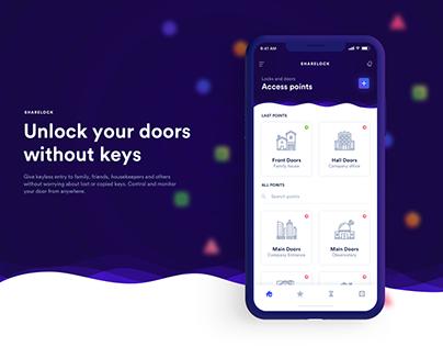 Sharelock - Unlock your doors without keys