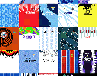 Classic Football/Soccer Jersey Patterns Pack – Part 2