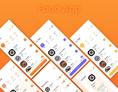 Food App Design Idea
