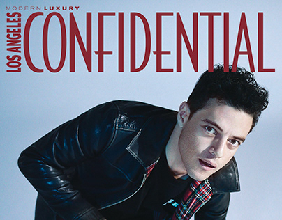 Rami Malek for LA Confidential
