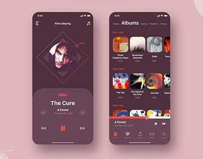 Player application design concept