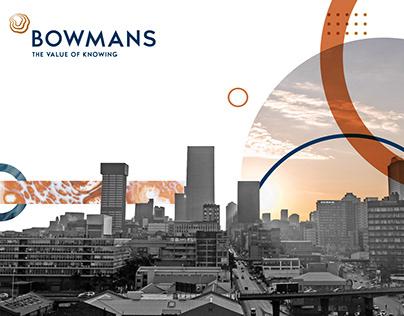 Refresh Branding for Bowmans
