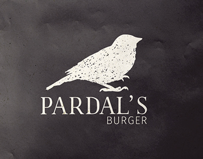 Pardal's Burger - branding