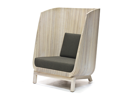 Husk Chair by Laura mays for Wooda