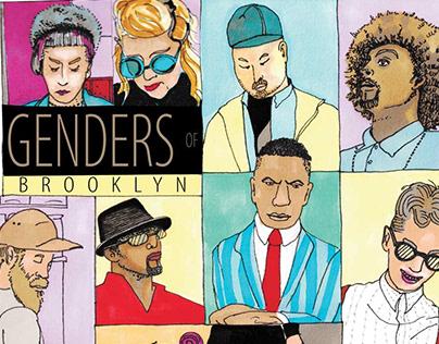 Genders of Brooklyn - Sketchbook