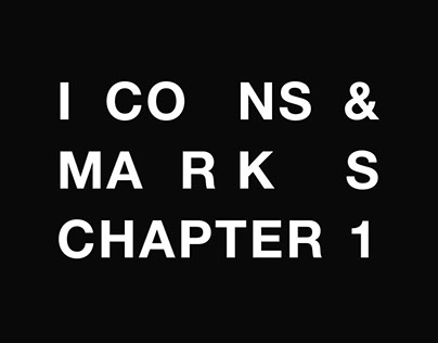 Icons & marks — Chapter 1