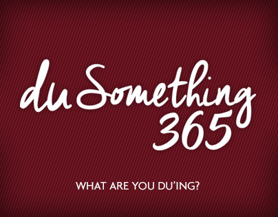 DU Something 365 Campaign